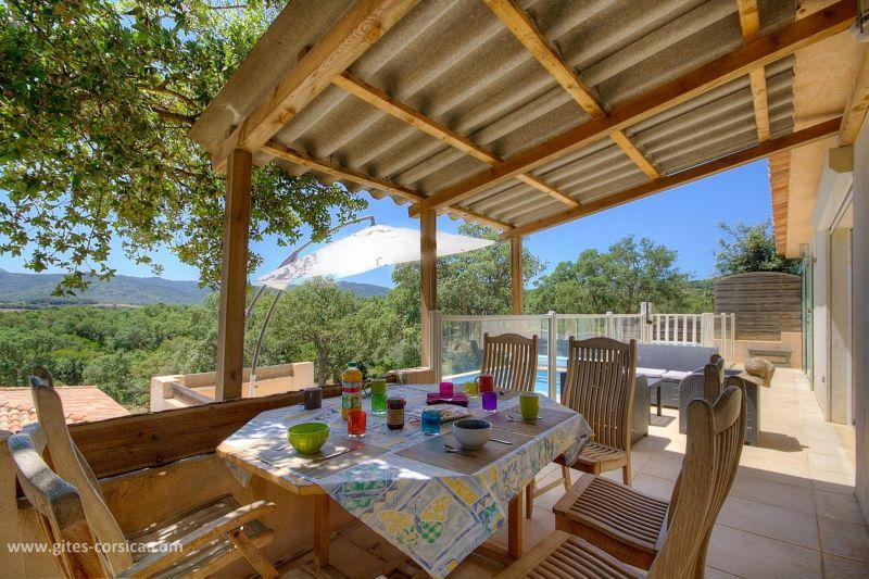 Terrace Location Villa 59939 Porto Vecchio