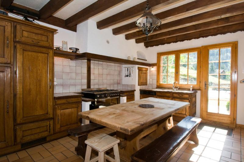 Open-plan kitchen Location Chalet 600 Châtel
