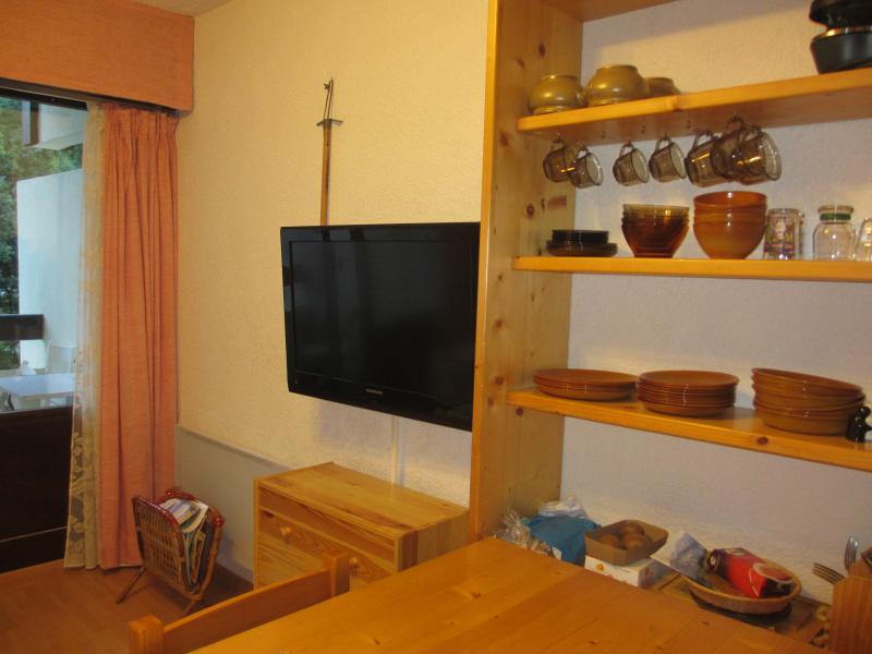 Living room Location Studio apartment 60427 Les Carroz d'Araches
