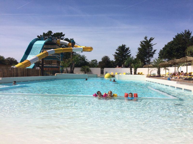 Swimming pool Location Mobile home 60835 Saint Jean de Monts