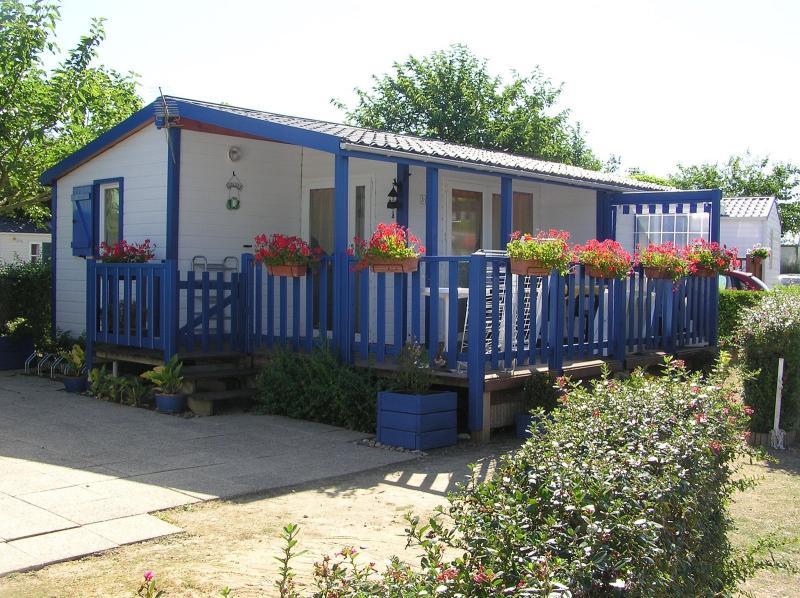 Terrace Location Mobile home 60835 Saint Jean de Monts