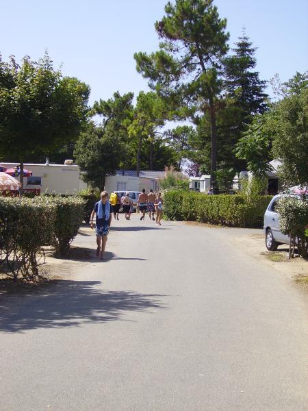 View from terrace Location Mobile home 60835 Saint Jean de Monts