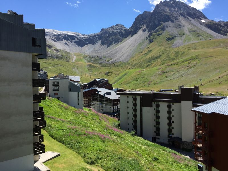 View from the balcony Location Studio apartment 61425 Tignes