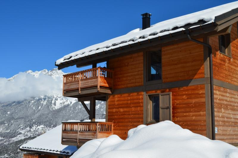 View from the balcony Location Chalet 61756 Valfréjus