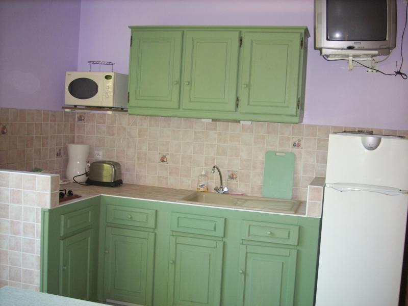 Summer kitchen Location Self-catering property 62646 Sainte Rose