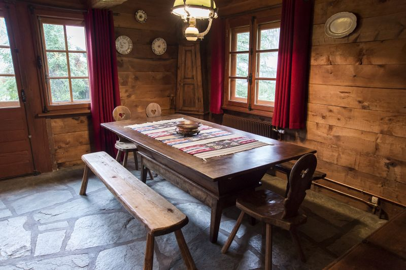 Dining room Location Chalet 706 Chamonix Mont-Blanc