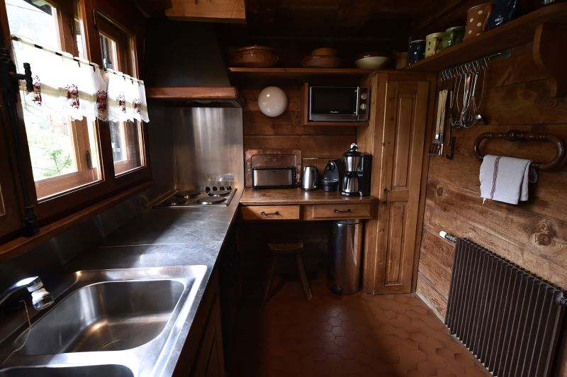 Sep. kitchen Location Chalet 706 Chamonix Mont-Blanc