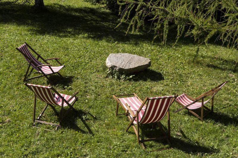 Garden Location Chalet 706 Chamonix Mont-Blanc