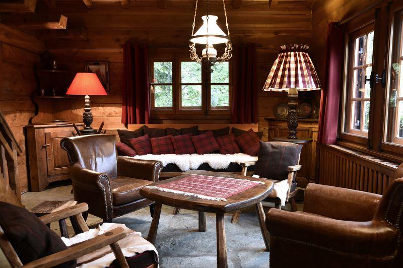Living room Location Chalet 706 Chamonix Mont-Blanc