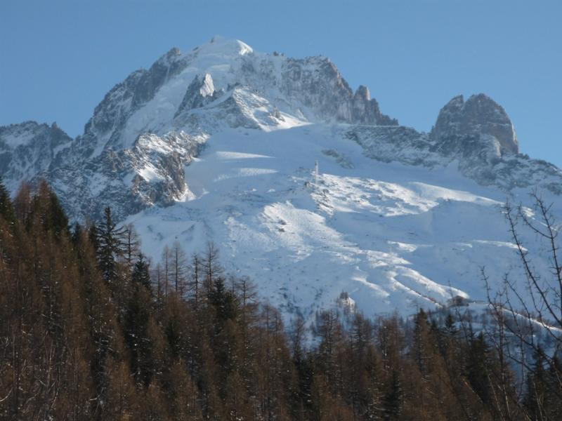 View from terrace Location Chalet 706 Chamonix Mont-Blanc