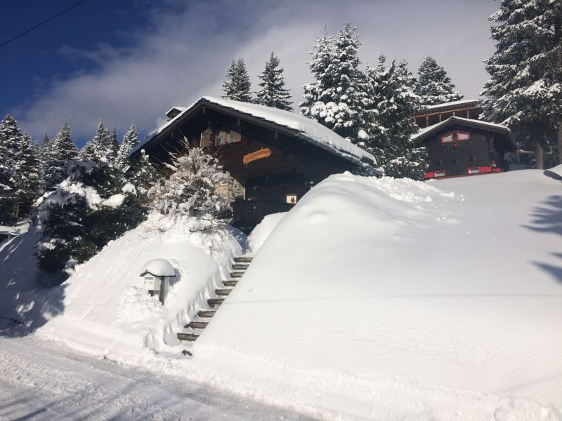 Outside view Location Chalet 742 Chamrousse