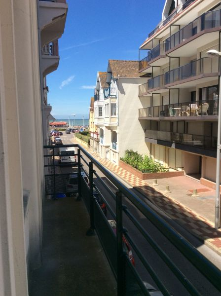 View from the balcony Location Apartment 7771 Le Touquet