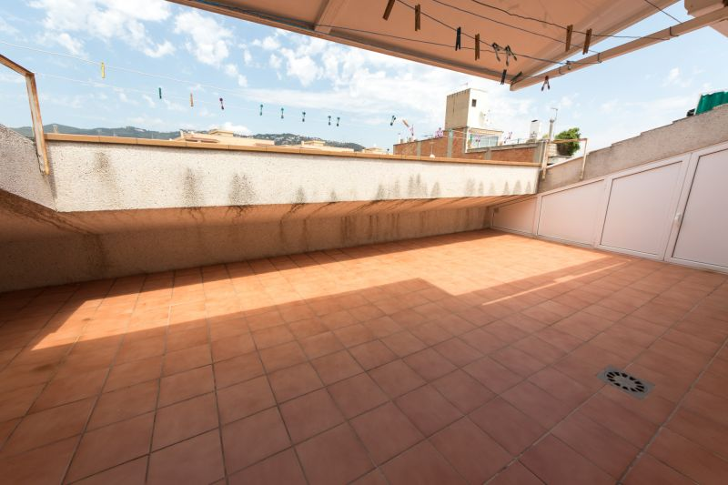View from terrace Location Apartment 8169 Calella de Mar