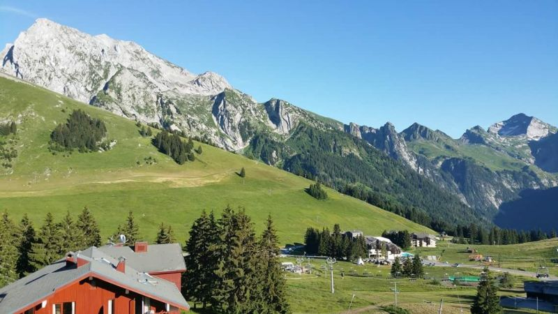 View from the property Location Apartment 843 La Clusaz