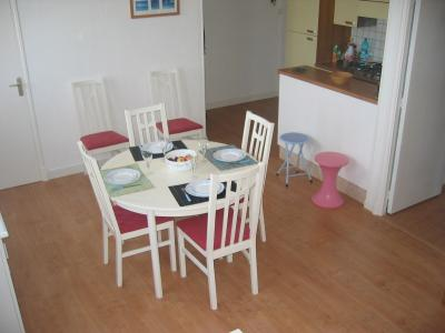 Dining room Location Apartment 8881 Berck-Plage