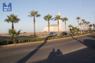Outside view Location Apartment 9024 Casablanca