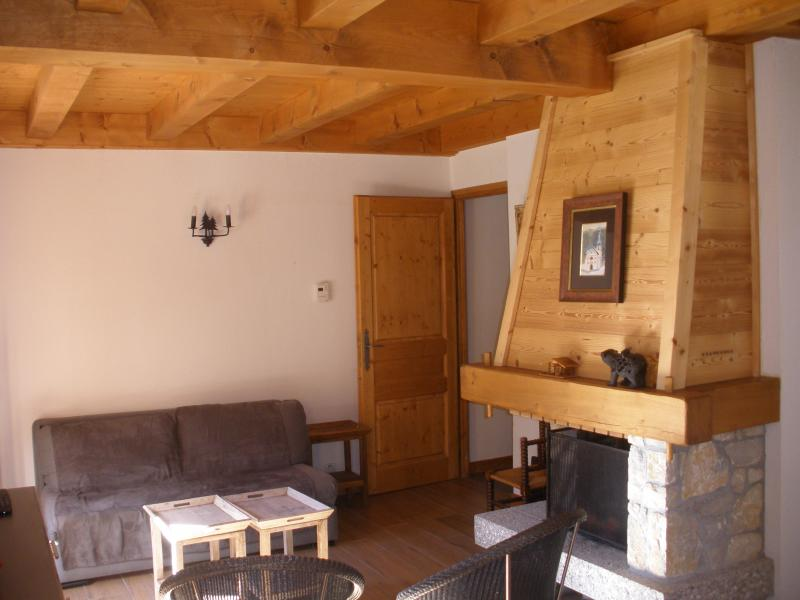 Sitting room Location Chalet 930 Les Contamines Montjoie