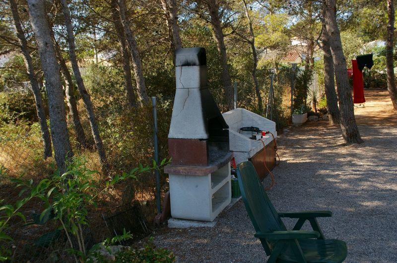 Summer kitchen Location Villa 9664 La Ametlla de Mar