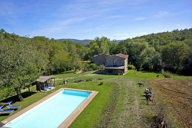 Surroundings Location House 106425 Arezzo