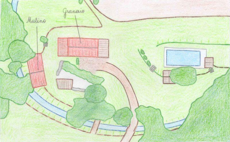 Area map Location House 106425 Arezzo