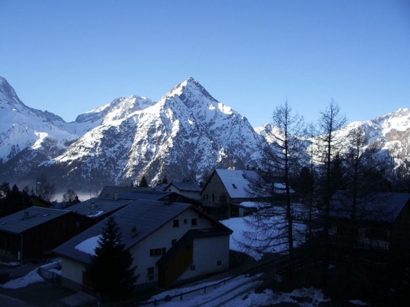 View from the balcony Location Apartment 111741 Les 2 Alpes