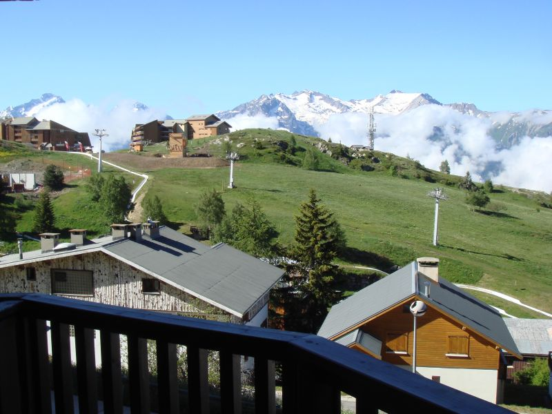 View from terrace Location Studio apartment 112804 Alpe d'Huez