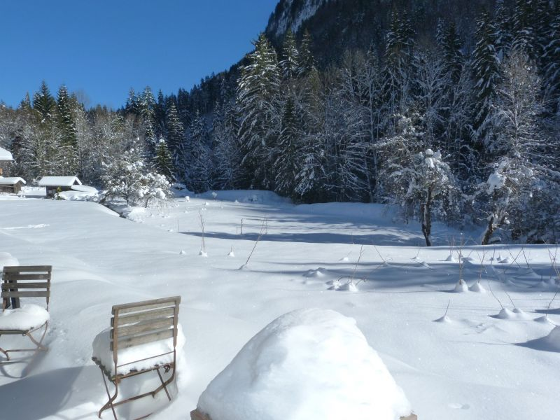 View from terrace Location Chalet 67065 Morzine