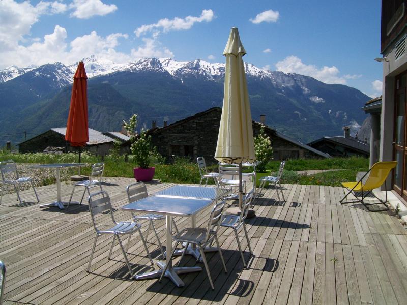 Terrace Location Self-catering property 68664 Saint Jean de Maurienne