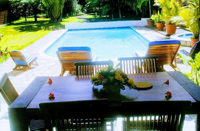 View from terrace Location Villa 73361 L'Entre Deux