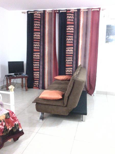 Living room Location Studio apartment 74882 Port Louis