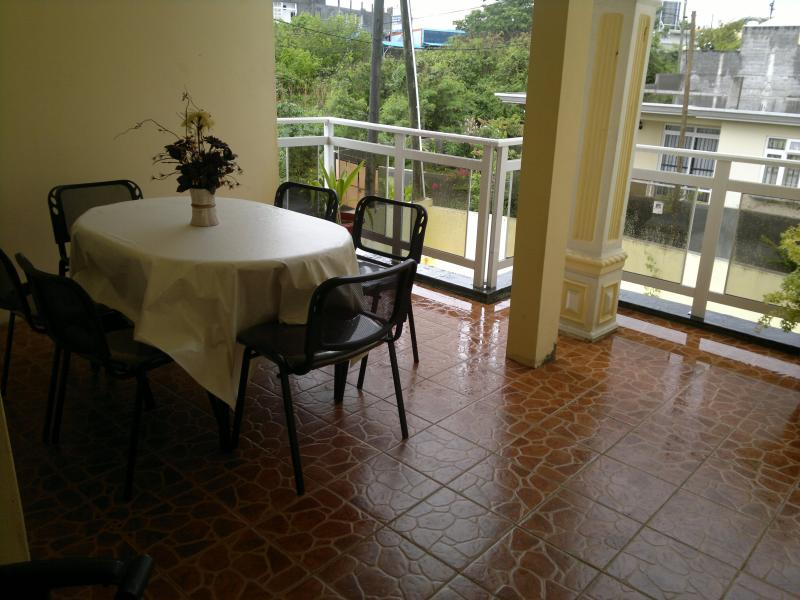View from terrace Location Villa 75584 Grand Baie