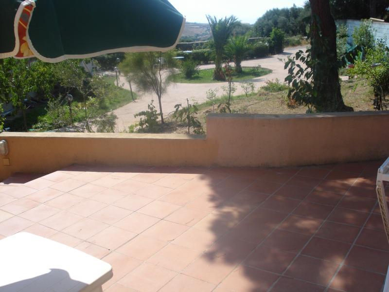View from terrace Location Apartment 76423 Trinità d'Agultu e Vignola