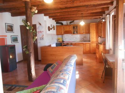 Living room Location Apartment 90178 Feltre