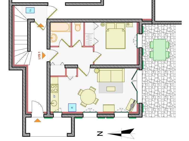 Property map Location Apartment 97968 Montgenevre