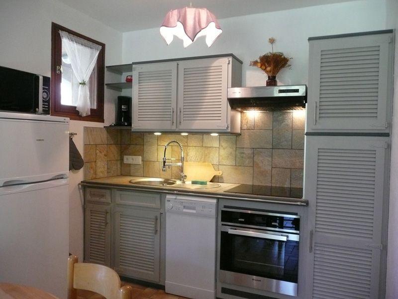 Kitchenette Location Apartment 97968 Montgenevre