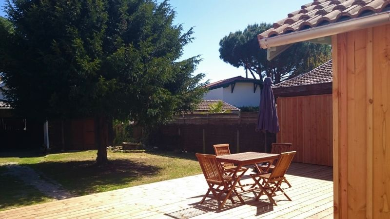 Garden Location Self-catering property 108872 Andernos les Bains
