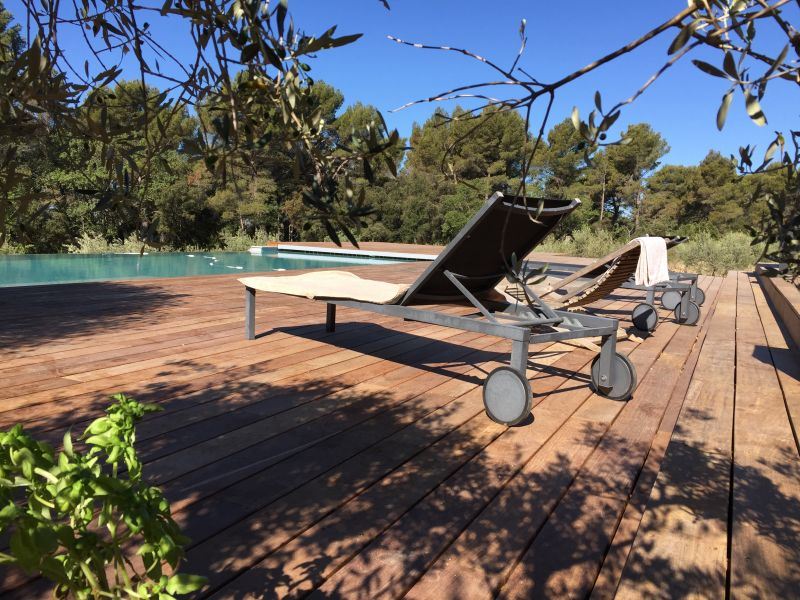 View from terrace Location Villa 109342 Aix en Provence