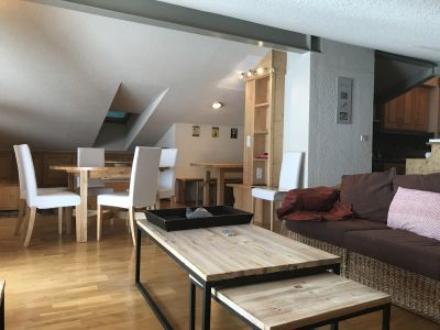 Living room Location Apartment 112508 Méribel