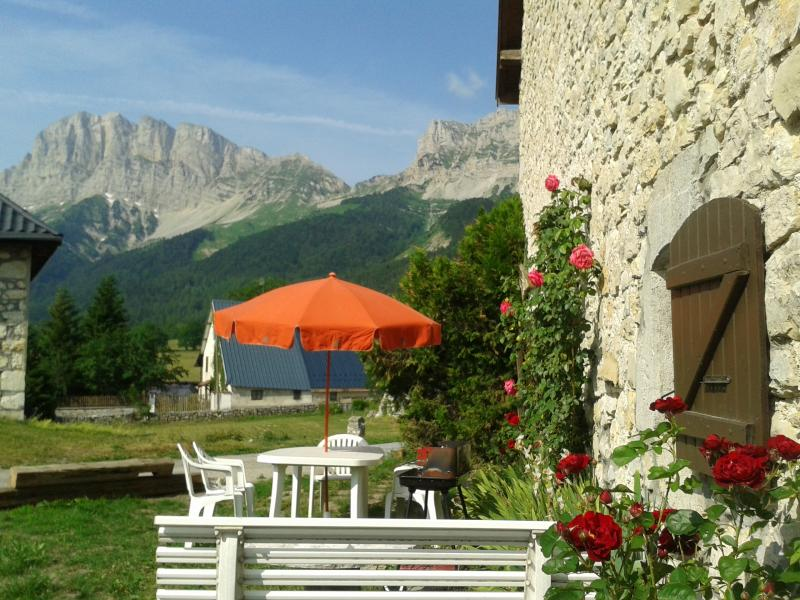 View from terrace Location Self-catering property 66151 Gresse en Vercors