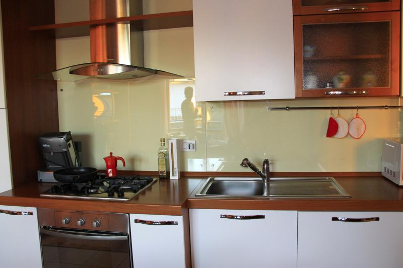 Kitchenette Location Apartment 66766 Sirmione