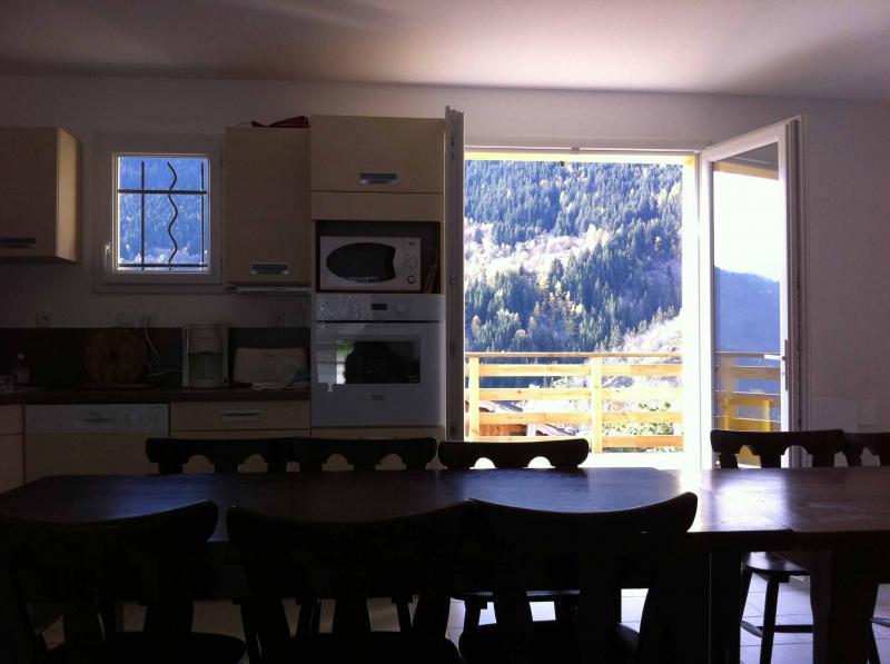 Open-plan kitchen Location Apartment 67175 Saint François Longchamp