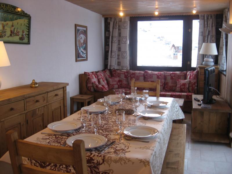 Dining room Location Apartment 77055 La Plagne