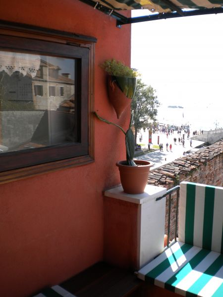 View from terrace Location Apartment 86011 Venice