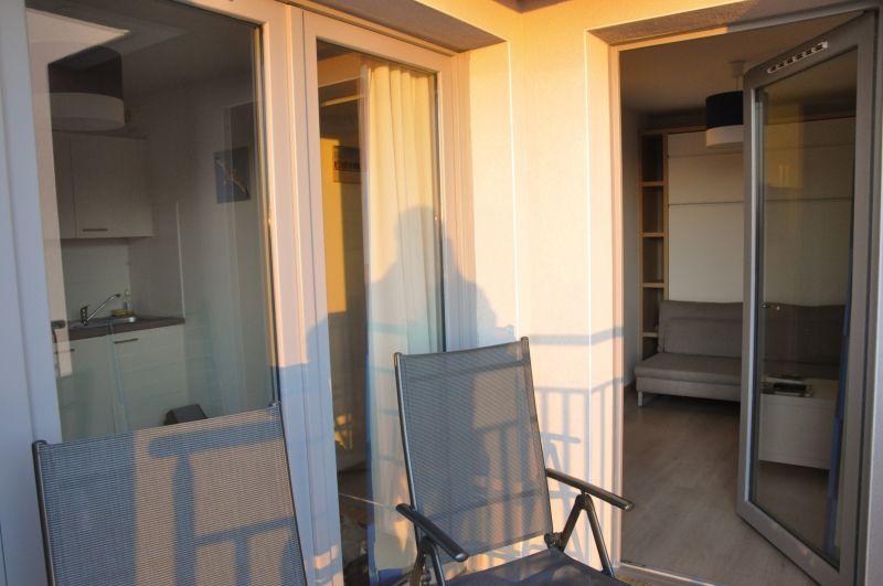Terrace Location Studio apartment 88543 Bray-Dunes