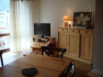 Living room Location Studio apartment 101130 Les 2 Alpes