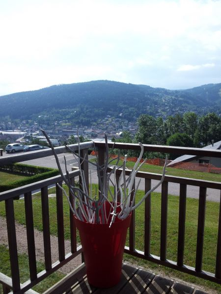 View from the balcony Location Apartment 111316 Gérardmer