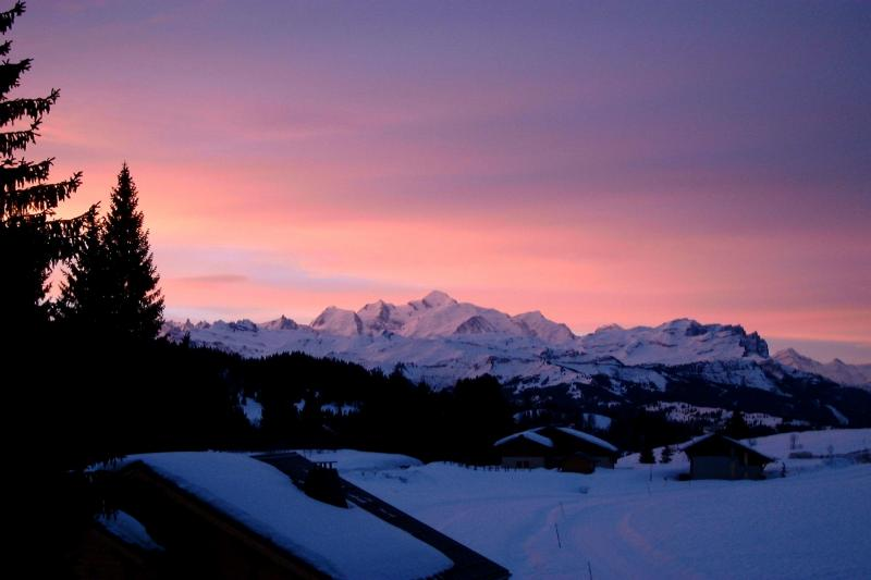 View from the balcony Location Chalet 66858 Praz de Lys Sommand