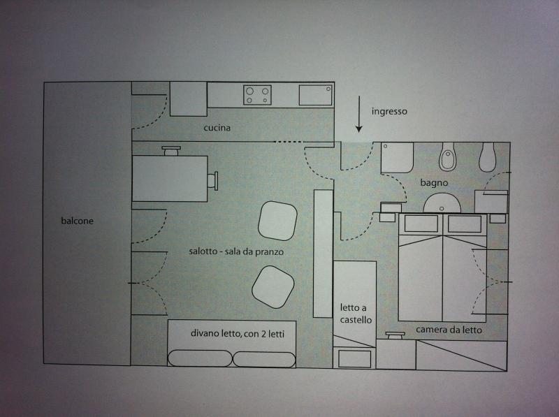 Property map Location Apartment 75601 Levanto