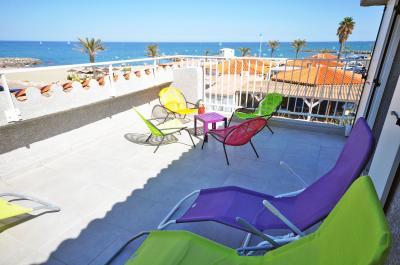 View from terrace Location Villa 78588 Sainte Marie la Mer