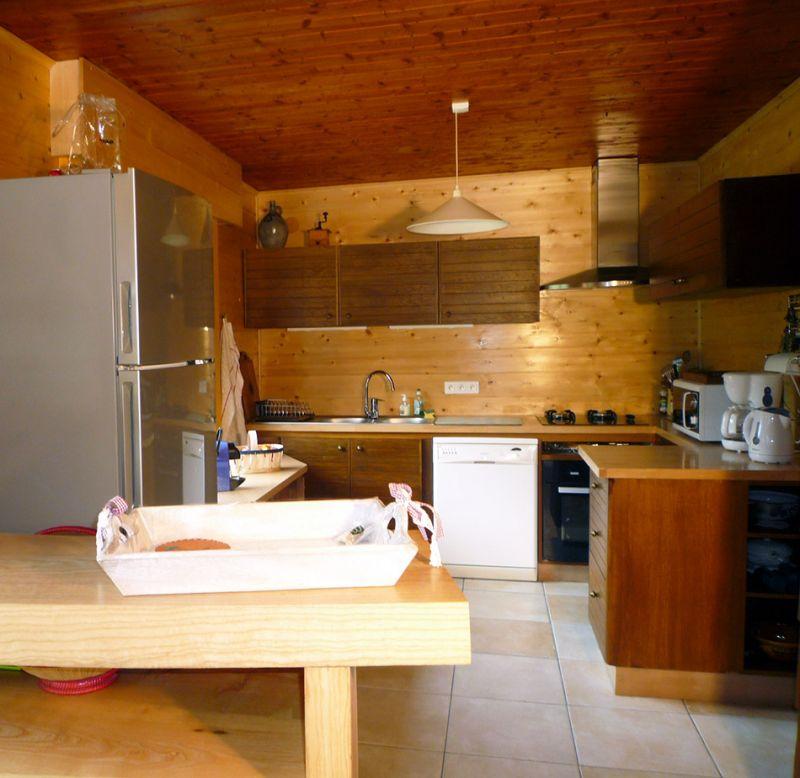 Open-plan kitchen Location Chalet 88059 Chamonix Mont-Blanc